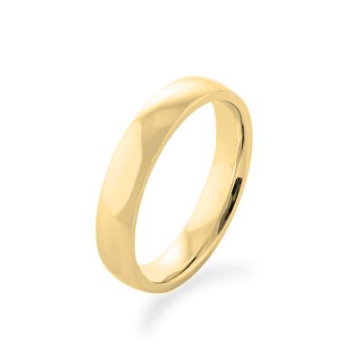 Snubní prsteny ze žlutého zlata - jednoduchost a jemnost D-SHAPE