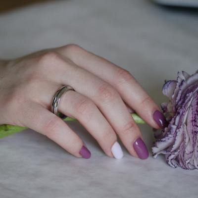 Snubní diamantové prsteny z kombinovaného zlata FERDE