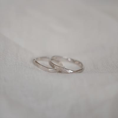 Atypical wedding rings GOLI