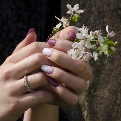 JOEN gold diamond wedding ring