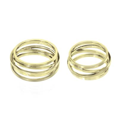 White gold wedding rings JOLI - style and charm