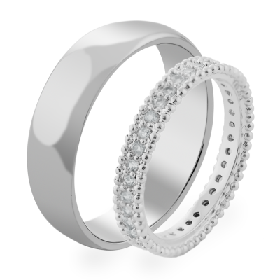 KNEDE luxurious diamond wedding rings