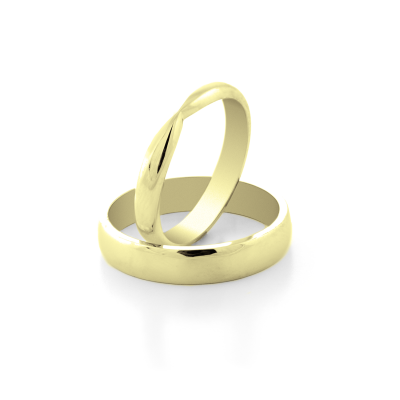 LALI gold wedding rings - the symbol of eternal love