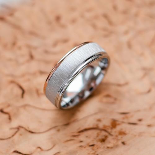 LAURI combination gold diamond wedding rings