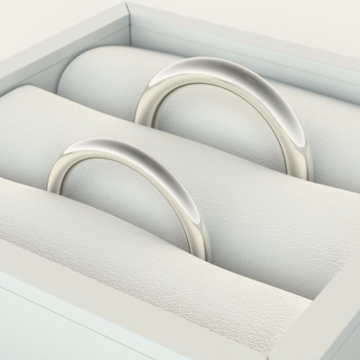LOBE wedding gold rings - Fine Classics