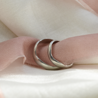 Atypical wedding rings LUAMA