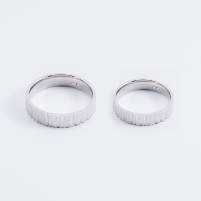 Original gold wedding rings MAJT nobility and graceful elegance