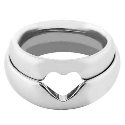 Zlaté snubní prsteny se srdcem MOLE
