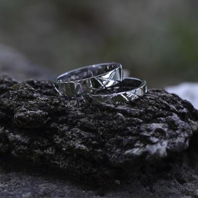 Original gold wedding rings NADIN