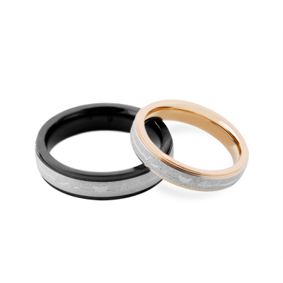 Original gold wedding rings SOPHY with a rhythm of your heart