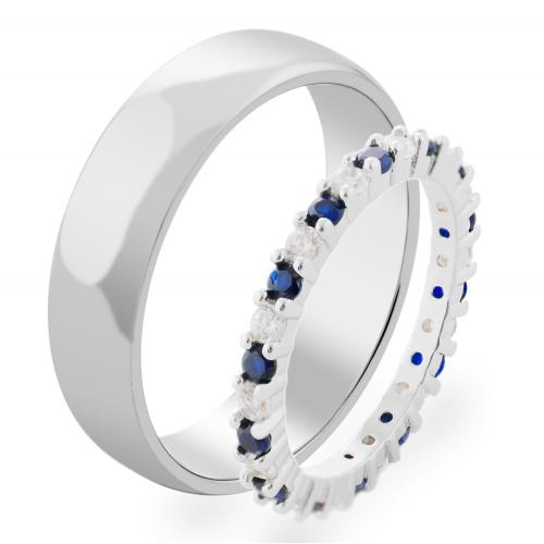 STIKI gold diamond wedding rings (0.60ct)
