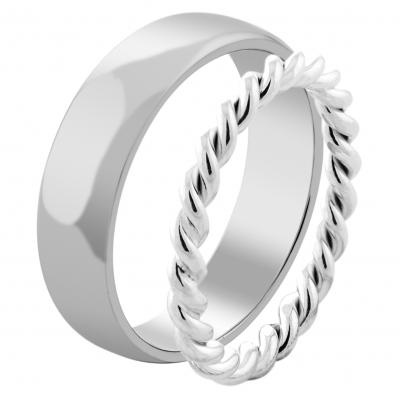 Minimalistické snubní prsteny ze zlata VALO - spolehlivost a dokonalost